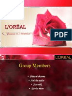 Final Loreal Ppt