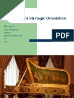 Steinway_s Strategic Orientation