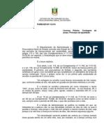 PGE Pa13914 - LP Contagem de Prazo - Principio Da Igualdade