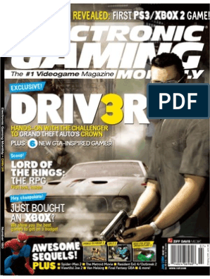 Electronic gaming monthly magazine issue 180 July 2004 PDF ebook