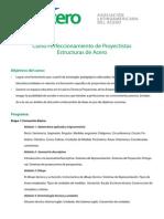 Curso Perfeccionamiento de Proyectistas Estructuras de Acero