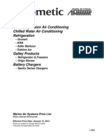 2014 Marine Air Pricebook