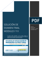 Solución de Examen I y II- Deyvin Vilcapoma mendoza