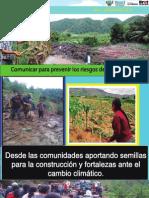 Comunicar Para Prevenir Los Riesgos de Los Desastres