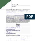 Kit de Desarrollo de Software