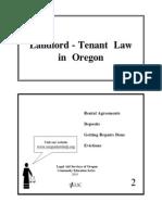 Landlord Tenant Booklet - English PDF