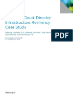 Vcloud Director Infrastructure Resiliency