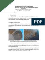0. Perkembangan Pengujian Bioflok Pada Pakan Murah Dan Komersil 2013 (H-30)