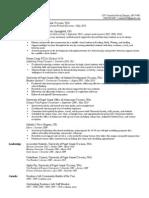 artifact a1 - resume development