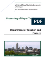 Department of Taxation Audit