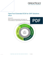 OpenText Extended ECM for SAP Solutions 10 - eBook