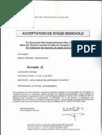 acceptation satge bénévole (Stage Poitiers)0001