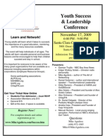 Youth Success & Leadership Conference