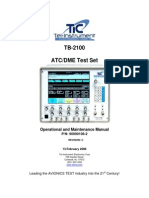 TB-2100 Operational and Maintenance Manual Rev C Optimise