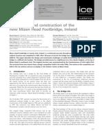 Design and Construction of Mizen Head Footbridge,Newzealand