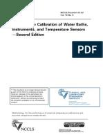 Cal Water bath