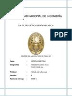 Informe N° 04 DE QUIMICA GENERAL