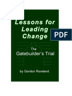 Lessons for Leading Change
