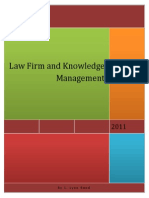 Law Firm and Knowledge Management
