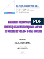 Management Integrat Calitate Mediusecuritate2005