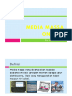 Media Massa on-Line