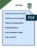 Julio Cesar Diaz H-tarea -Algebra Productos Notables,Sumfracc-expyrad