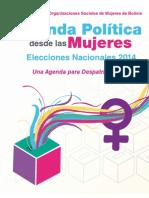 Agenda Politica Mujeres 02.04.2014 (1)