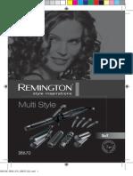 Remington Glamour Multi Styler Kit S8670 manual
