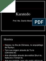 Aula Karatedo Historia