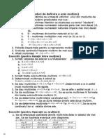 Exercitii Pentru Rezolvat Modulul 1 Multimi Inductie Combinatorica