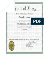 counseling license b