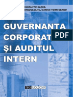 Guvernanta Corporativa Si Auditul Intern