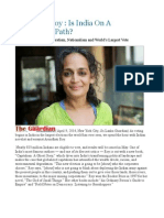 Arundhati Roy  Is India On A Totalitarian Path