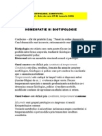 Homeopatie Si Biotipologie