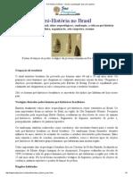 Pré-História no Brasil - resumo, organização, vida, arte rupestre