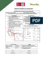 Procedimiento de Instalacion Por Soldadura PDF