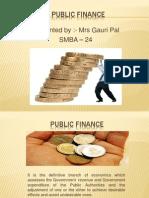 Gauri Pal Public Finance