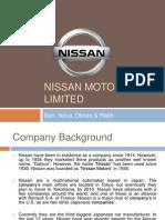 Nissan Motors Limited PPT