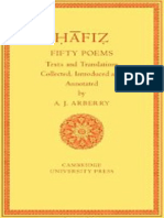 Fifty Poems of Hafiz - Arthur J. Arberry