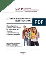 Manual Monografias