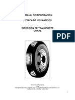 Manual de información técnica de neumáticos