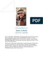 Hardy Obituary