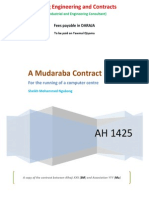 A Mudaraba Contract