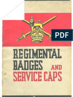 (1941) Regimental Badges & Service Caps
