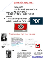 2. Nazi Party the Early Years