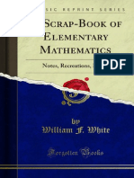 A Scrap-Book of Elementary Mathematics 1000072407