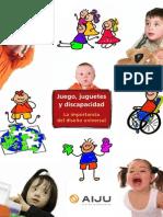 Juego, juguetes y discapacidad