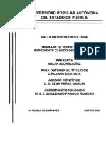 Norma Ofiial Mexivana Expediente Linico Odontologico