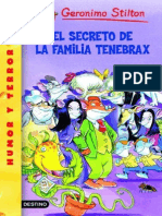 El Secreto de La Familia Tenebrax - Geronimo Stilton