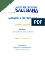 EUGENESIA (Examen de Ética)